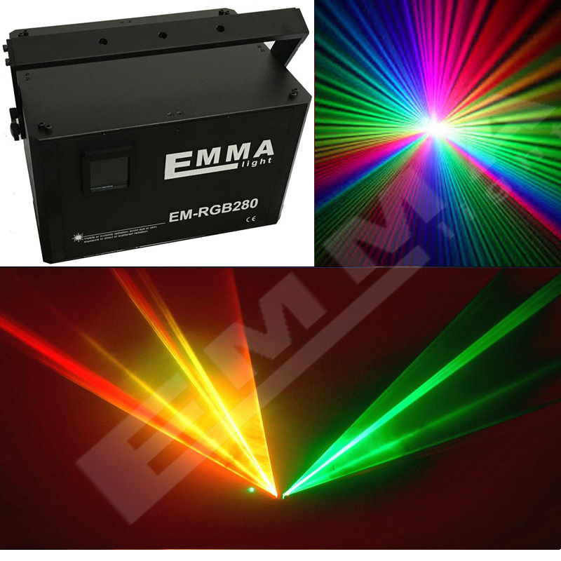 3D DIY laser projector 6000mW programmable laser lights show projector stage light