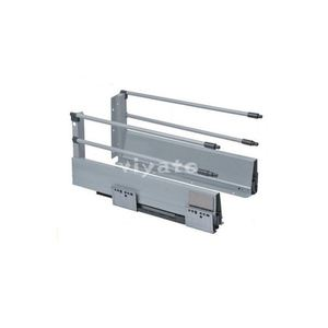 Kitchen drawer soft closing runner drawer slide metal box