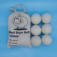 trends products 2019 new arrivals home use New zealand wool dryer balls large size