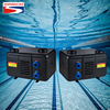 CE approved 3kw 4kw spa pool use heat pump expect high COP small design plastic cabinet swimming pool heat pump spa pool