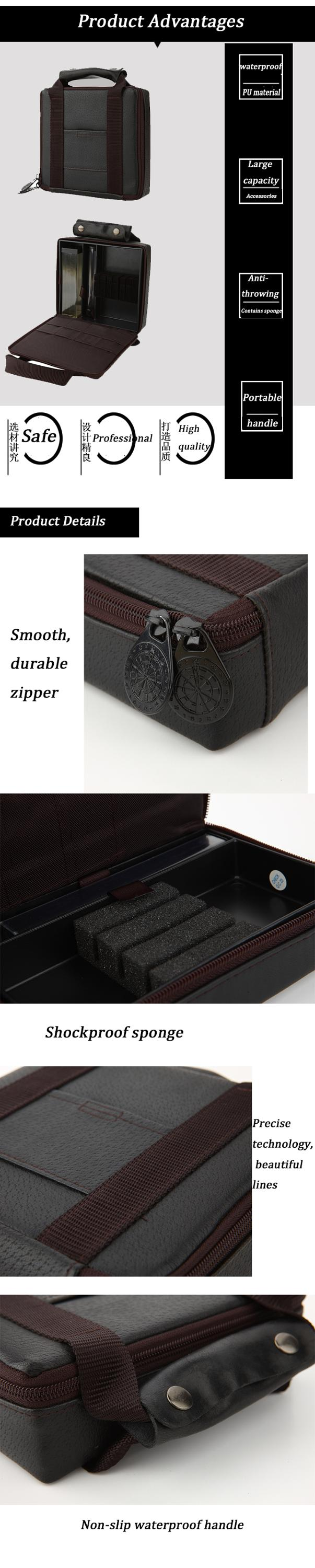 High quality Dart Case Nylon Large Capacity Dart Storage Box different color