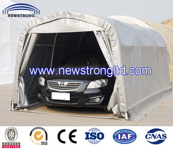 Portable Steel Structure Car Garage - Buy Portable Garage ...