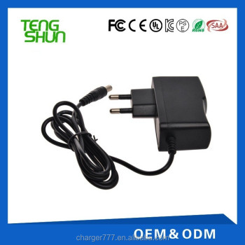 cheap eu us plug 12v 1a wall mount cctv cameras power supply for cctv cameras