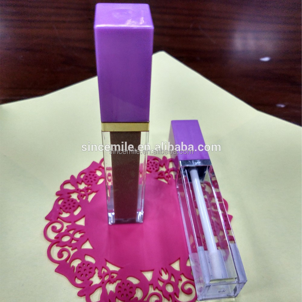 Make your own liquid lip gloss with private label lip gloss tube/container