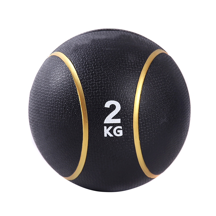 Rubber Exercise Strength Core Training Slam Medicine Ball for Workouts