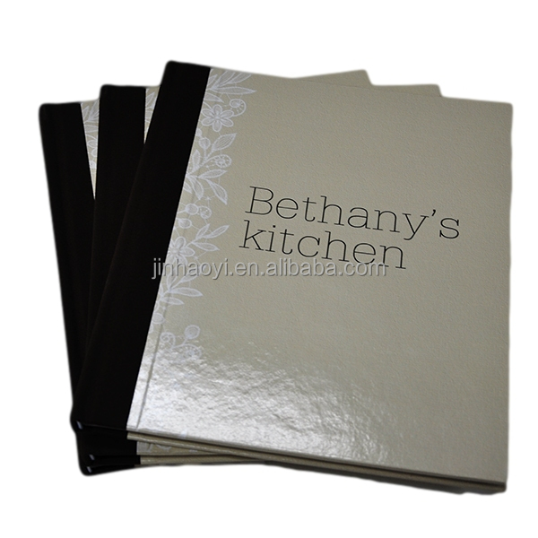 Bethany's kitchen glossy lamination top quality colorful hardcover cook book shenzhen printer