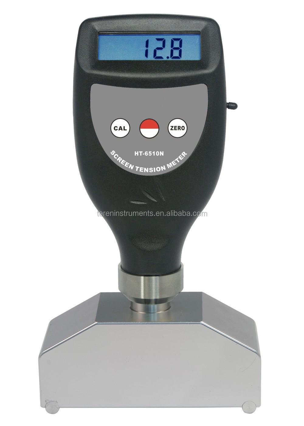 Ht 6510n Screen Tension Meter Steel Mesh Strain Tester