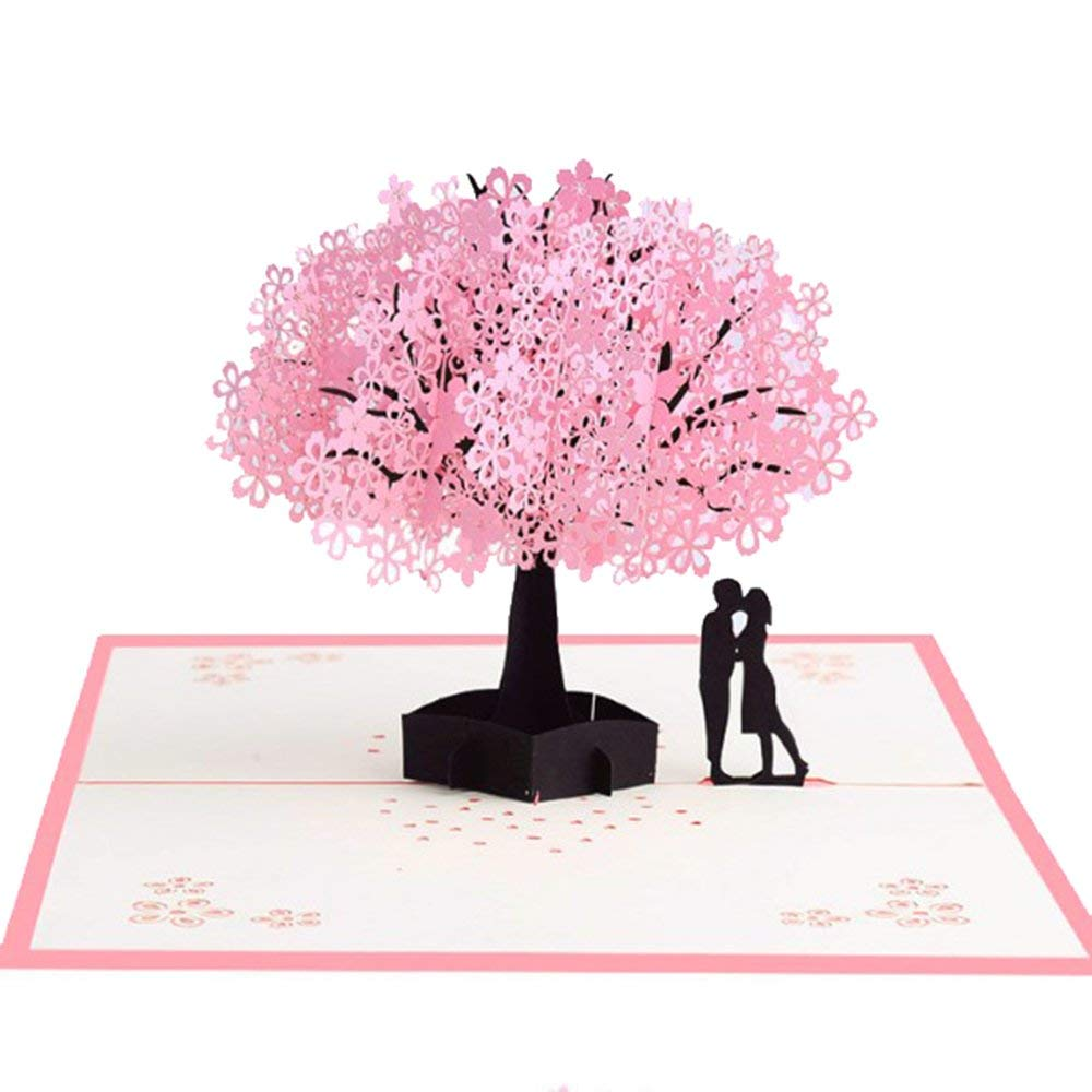 Pop Up Cards 3d Love Card3D Cherry Blossom Card