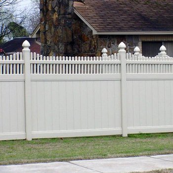 Lowes Vinyl Fence Panels With Different Colors Options