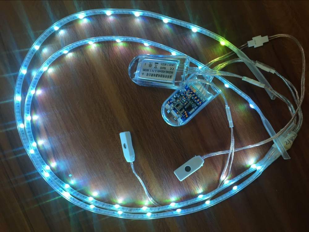 Usb And Battery-operated Rgb Led Light For Shoes Sale Led Strip ...