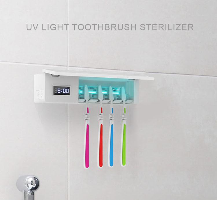 歯ブラシ殺菌機器 Uv 消毒 Uv ランプ蒸気滅菌歯ブラシから歯ブラシ消毒 Uvc 杖