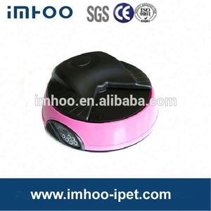 Very Popular Battery power Automatic Pet Feeder IPET-F08A frog resin bird seed feeder