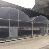 Chinese air conditioned climate control greenhouse