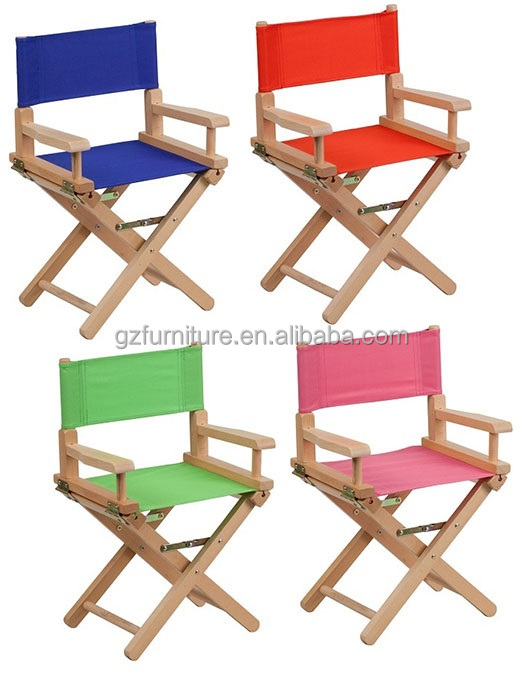 Kids Size Director Chairs   Buy Canvas And Wood Beach Chairs,Cheap Folding Director  Chairs,Antique Wood Folding Chair Product On Alibaba.com