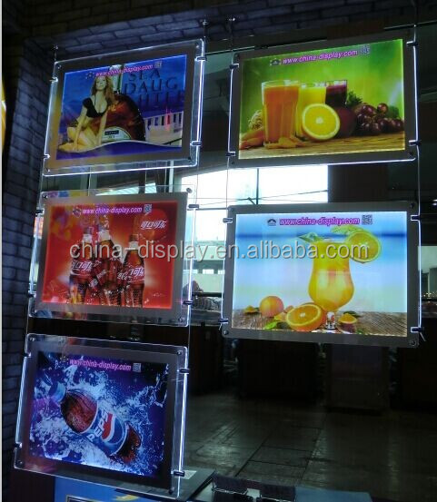 Cheap prices picture crystal backlit beer promotion acrylic led sign