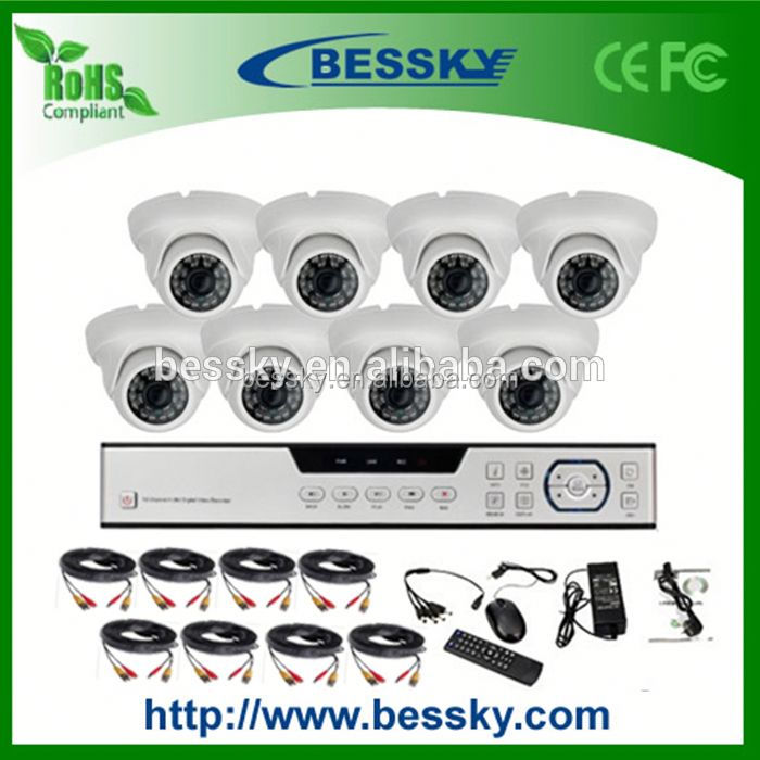 Alibaba express 960h AHD surveillance camera kit,kits for 8ch HD camera dvr,hd camera module 720p