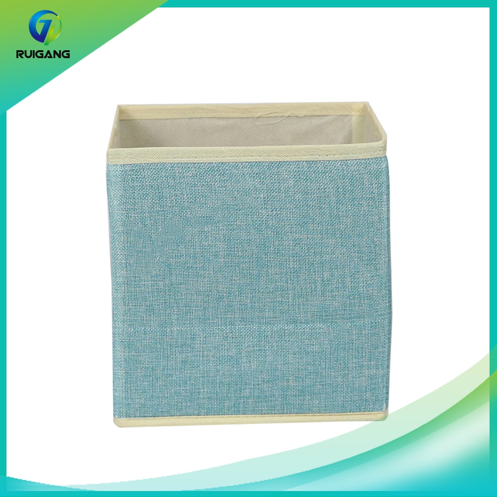 Wholesale foldable non woven cardboard drawer decorative storage box