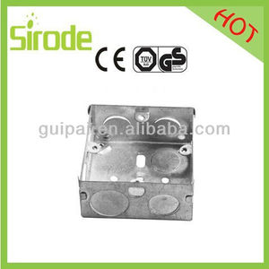 Flush Boxes And Surface Mount Switch Box Iron Mounting Box