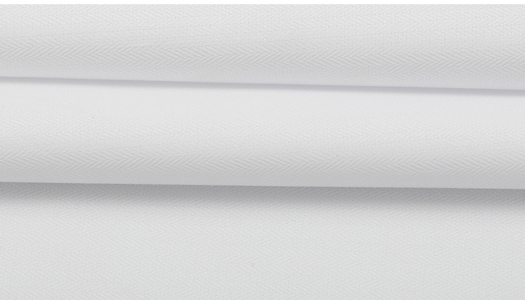 fiber woven for shirt bamboo fabric wholesale twill plain dyed 50% bamboo fiber 50% polyester  fabric