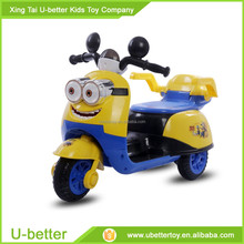plastic Baby Kids Ride On Toy Car With music motorcycle for child