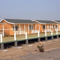 Senhao Environmental Low Cost Prefab Wooden House/Container House/Villa
