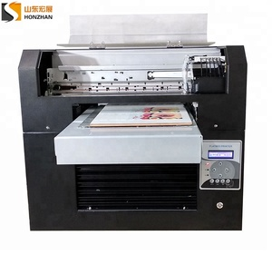 Customise digital UV led flatbed printer for silicone printing