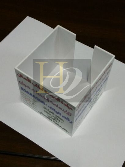 Multifunctionele Clear acryl document houder acryl boek, servethouder