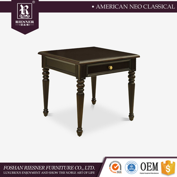 Luxury classic furniture european side table , wood furniture wooden coffee table / Tea table