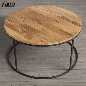 Fn 043 En Bois Shabby Chic En Metal Petite Taille Ronde Table Basse Buy Table Basse Ronde Table Basse Ronde Table Basse Bois Ronde Product On