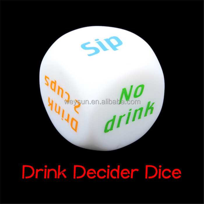 NEW Drink Decider Die Games Bar Party Pub Dice