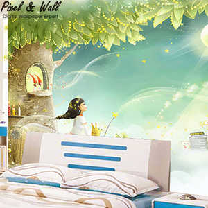 China Fairies Kids Wallpaper Manufacturers And Suppliers On Alibaba