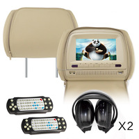 car headrest monitor dvd,9 inch hd touch screen headrest monitors