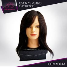 Advantage Price Exceptional Quality Customized Logo Good Touch Feeling Manequin Training Head For Salon Practice