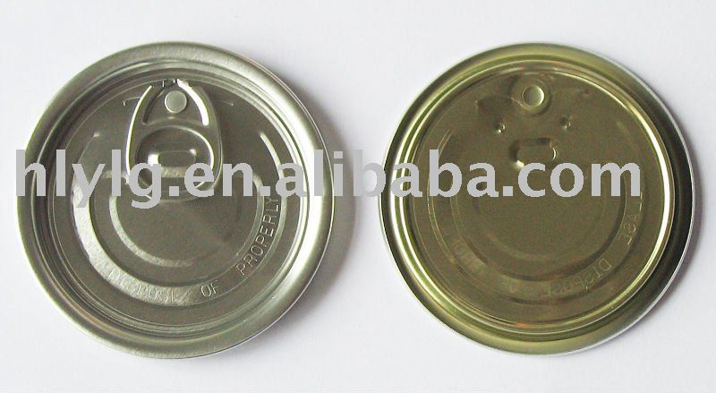 209# (63mm) EOE, Aluminium Can Easy Open End for air freshener