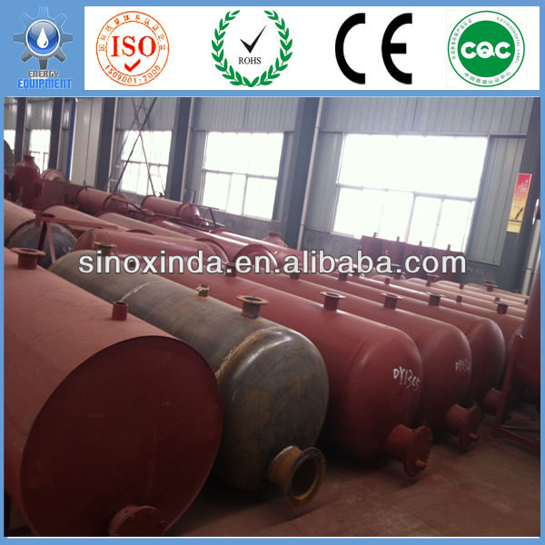 Xinda Energy X-Ray Tech. XD-10CAP waste plastic used oil recycling plant