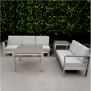 Chile Luxury bali beach Hotel Patio Set 2017 most popular outdoor indoor furniture sofa set of lounge sofa bed