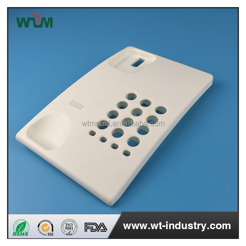 Plastic injection telephone case mold make