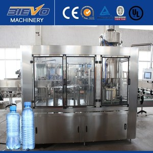 Automatic Natural / Mineral / Beverage Filling Machine / Water Filling Line