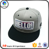 High quality custom snapback with 3D embroidery logo