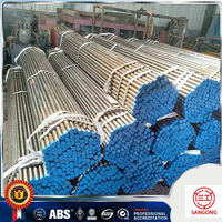 DN15-DN80 Galvanized Threaded Round Iron Steel Pipe
