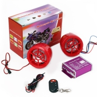 New product Motorcycle MP3 Anti-lost Modified Audio, Support BT & TF Card & U Disk Reader & FM for car