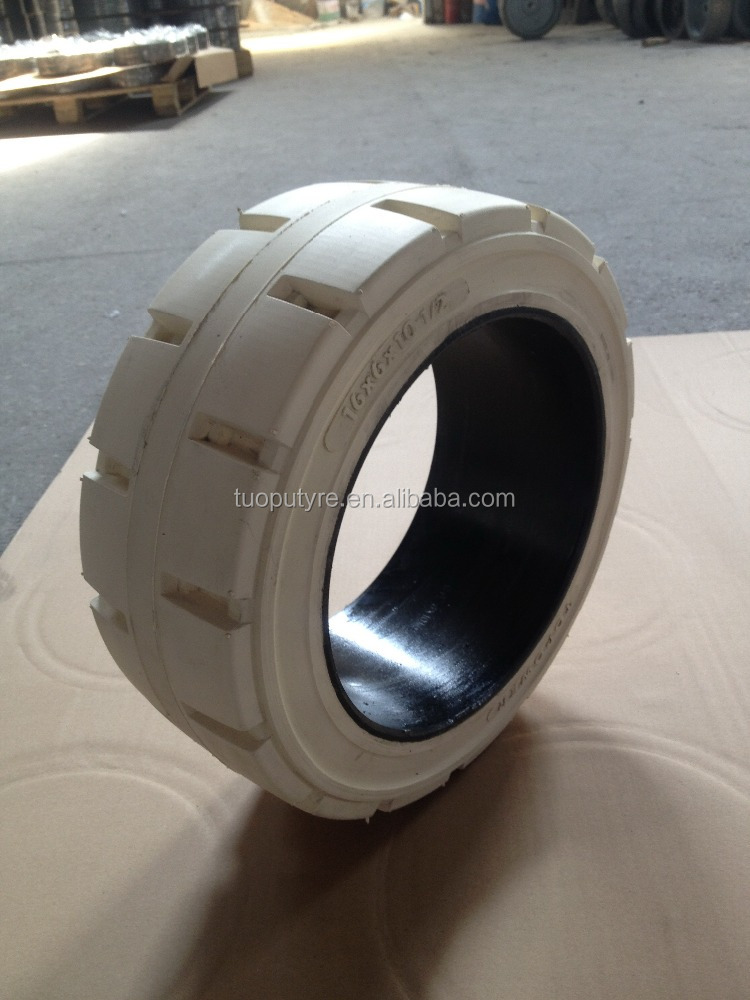 passenger boarding bridge solid tyre 17x5x12 1/8 for airport lift
