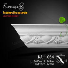 Wholesale Large Size Polyurethane Building Material Ceiling Cornice