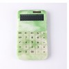 Solar and Button Battery Dual Power Electronic Desktop Calculator with 12-digit Large Display