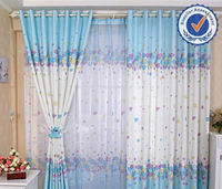 Africa style popular print window curtain fabric india bamboo door curtain