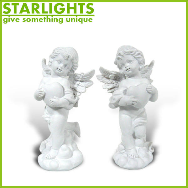 Factory Custom made best home decoration gift resin polyresin fairy angel