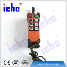 Best sell factory supply bridge crane industrial radio remote controller