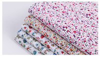 Popular flower design 100% cotton fabric dyeing fabric factory direct price printed poplin fabric from china