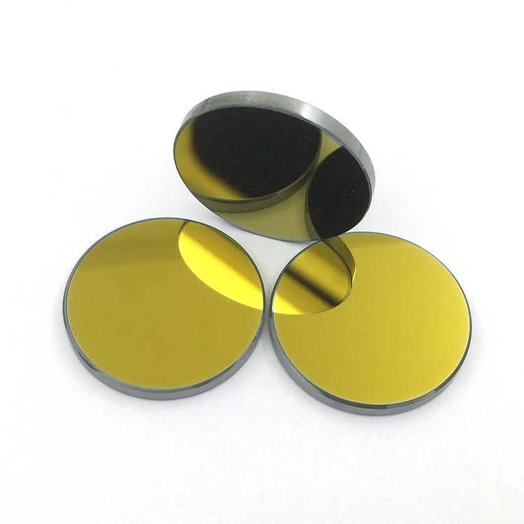 Si Gold-Plated CO2 Laser Mirror Dia. 19.05/20/25/30/38.1mm