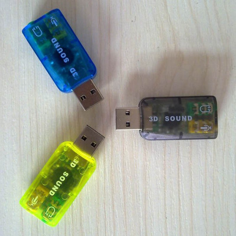 Mini Usb 2.0 Channel 7.1 Sound Card For Computer